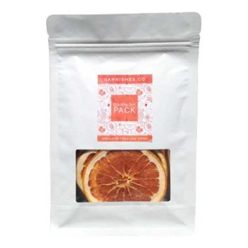 dehydrated pink grapefruit garnishes 25g